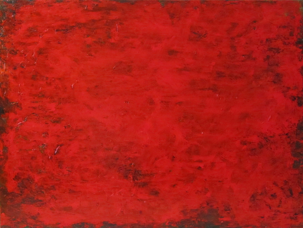 "Red #12 30""x40"""