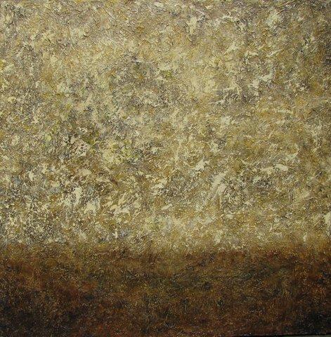 Misty 36x36 Acrylic on Canvas