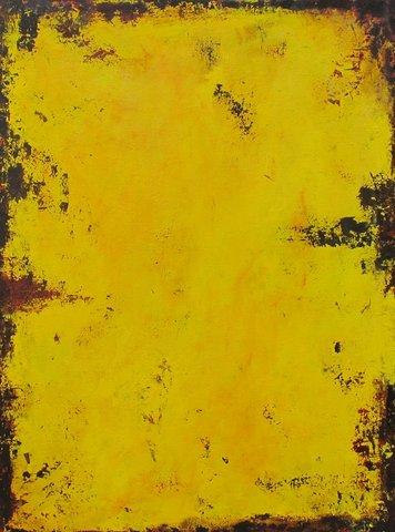 """Yellow #5 Acrylic 30x40"""""""