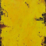Yellow #5 Acrylic 30x40""